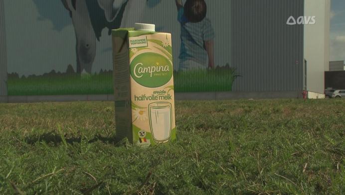 Nieuw en duurzamer melkkarton voor Campina weidemelk